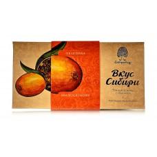 Шоколад темный «Вкус Сибири» с облепихой, 100г (Сибирский кедр)